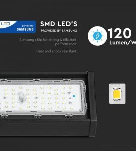 Spot pe sina led 15W: Lampa industriala liniara led 100W