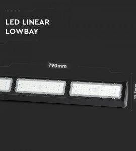 Proiector led 10W solar: Lampa industriala liniara led 150W