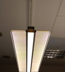 Lampi led liniare: Lampa led dimabila suspendata 40W